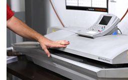 Postage metering / live stamp service