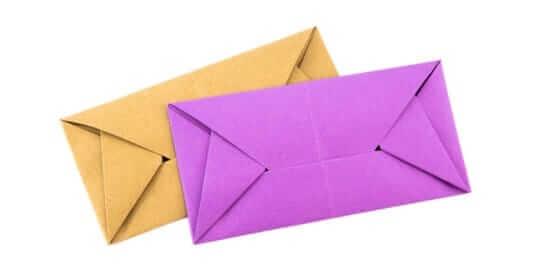 different envelope looks